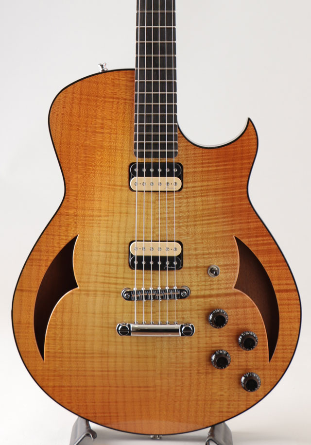 Semi Hollow Figured Maple Mahogany 59 Burst